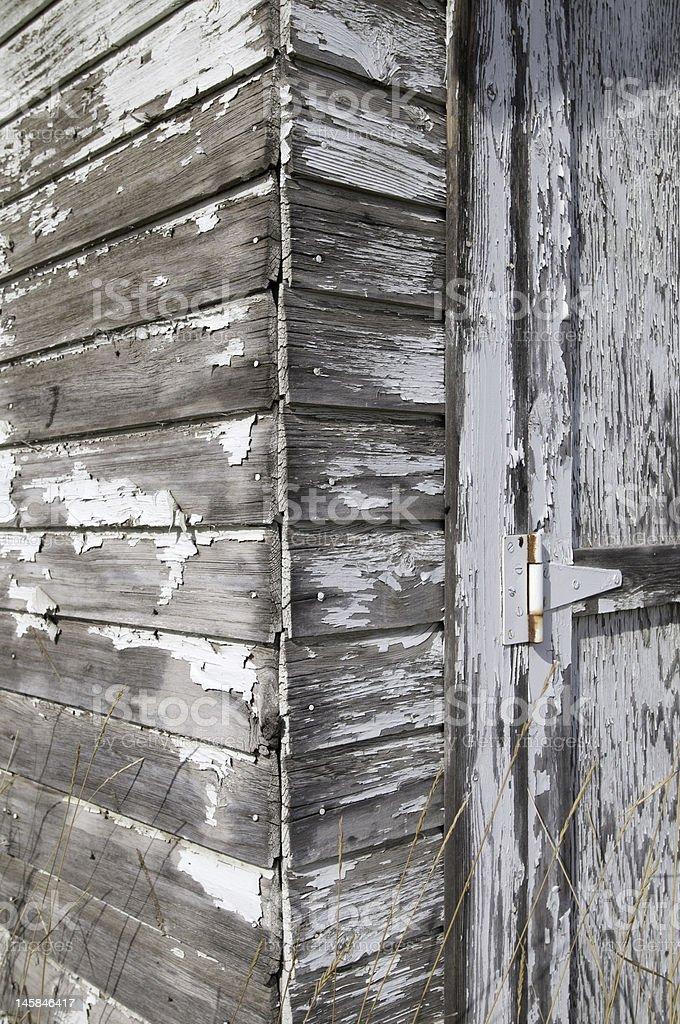 Rustique Old Barn détails photo libre de droits