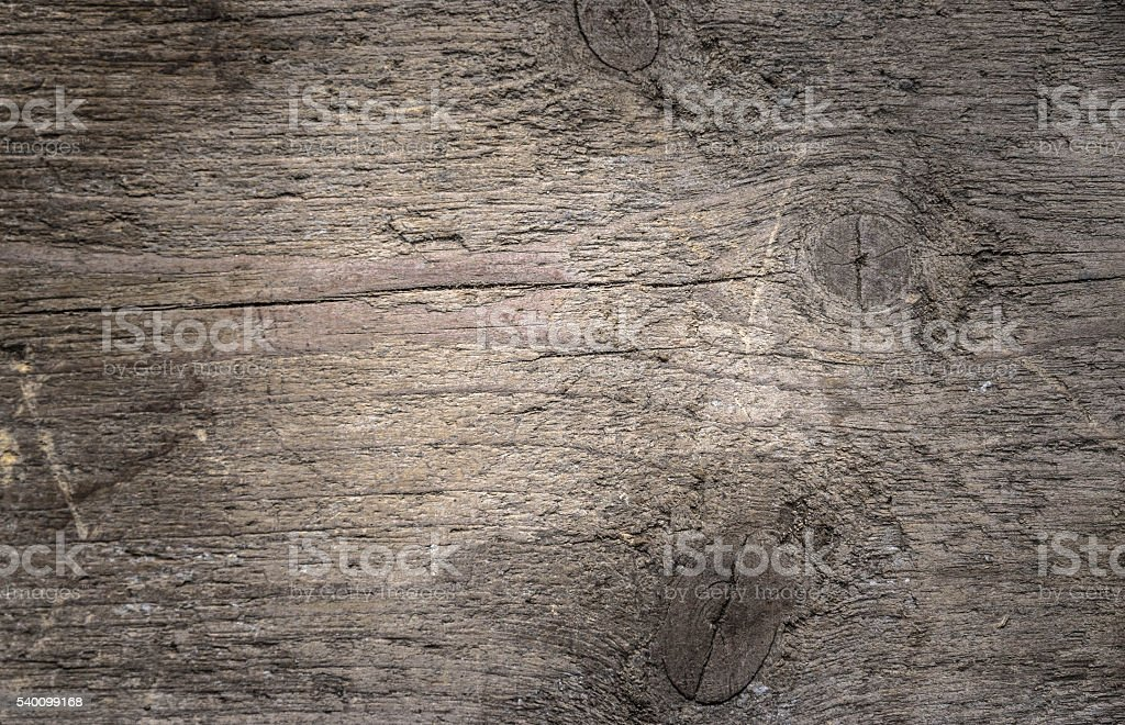 Rustic old wooden table stock photo