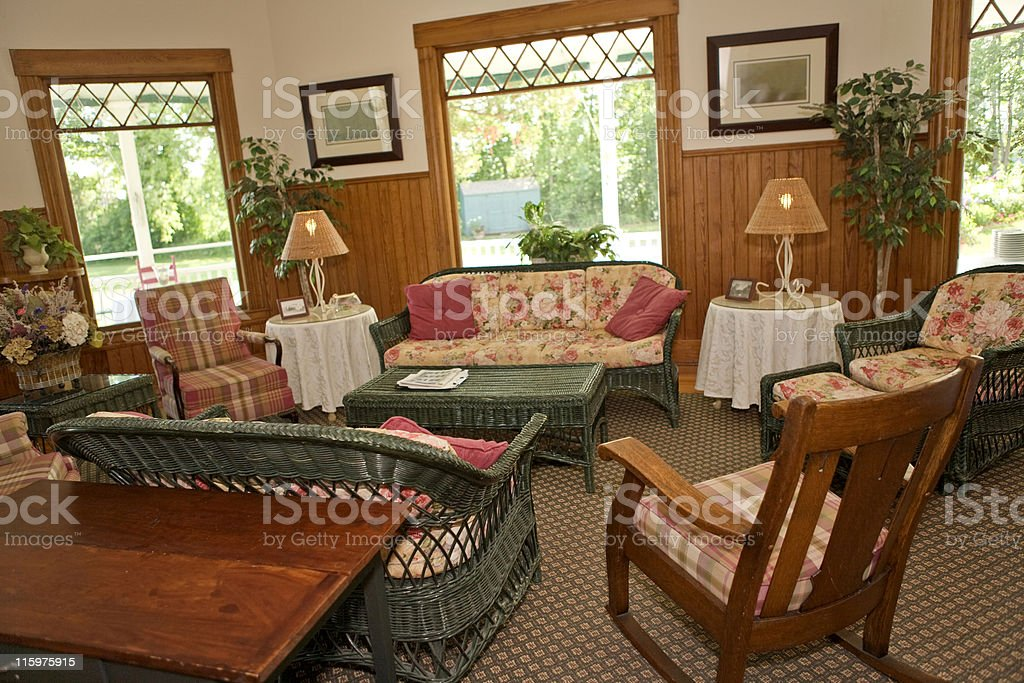 Rustic Room royalty-free stock photo