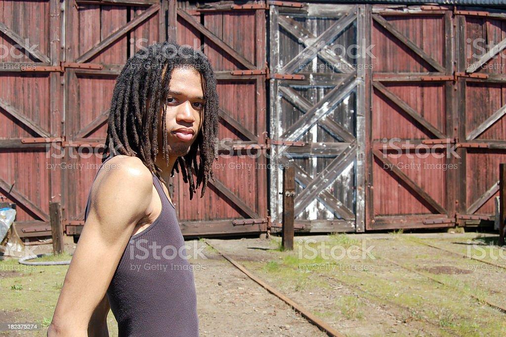 Rustic Setting stock photo