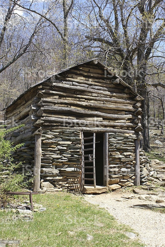 Rustic Shed royalty-free stock photo