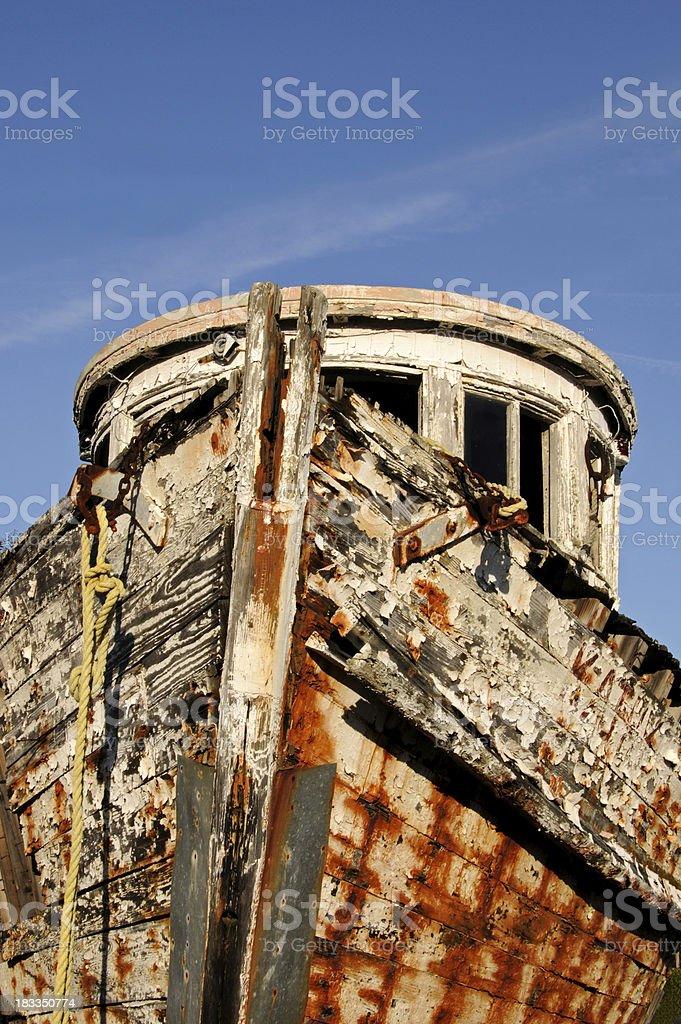 Rustic Ship royalty-free stock photo