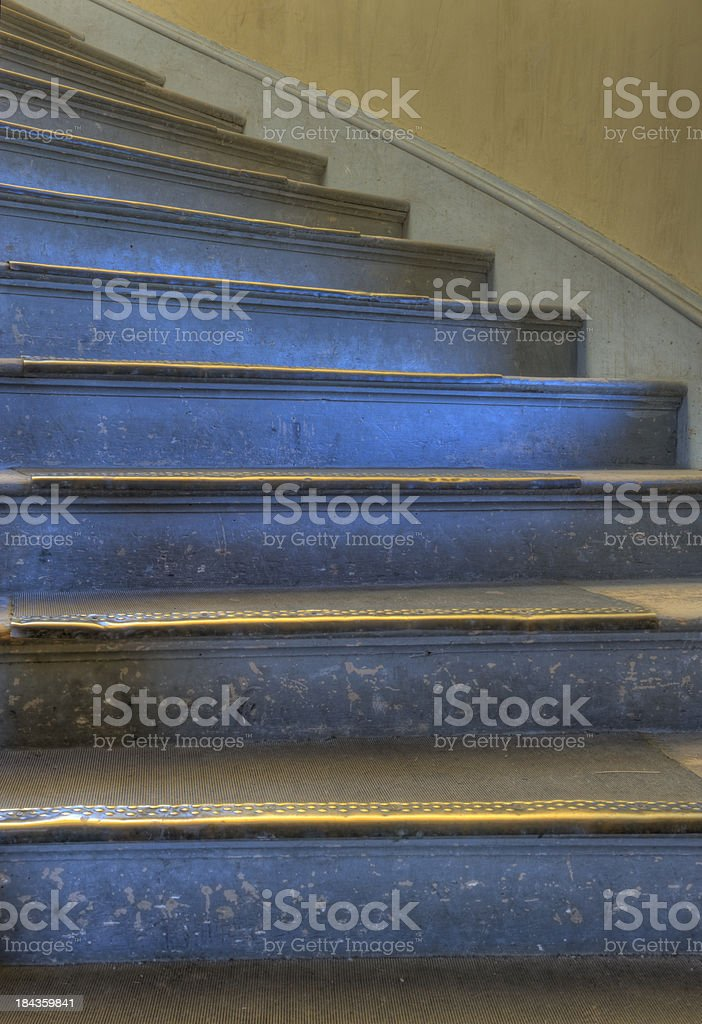 Rustic Staircase stock photo