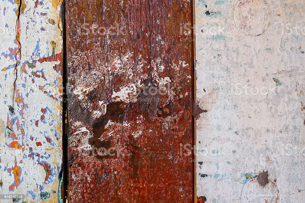 Rustic stripes timber plank textured stock photo