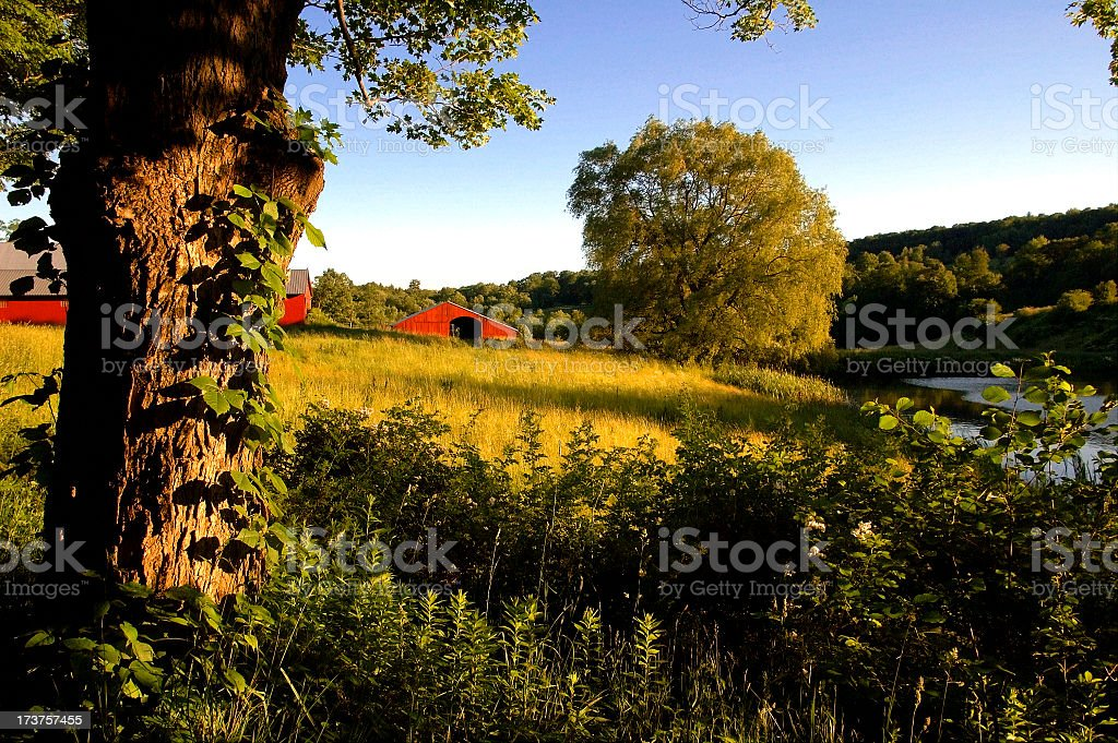 Rustic Vermont royalty-free stock photo