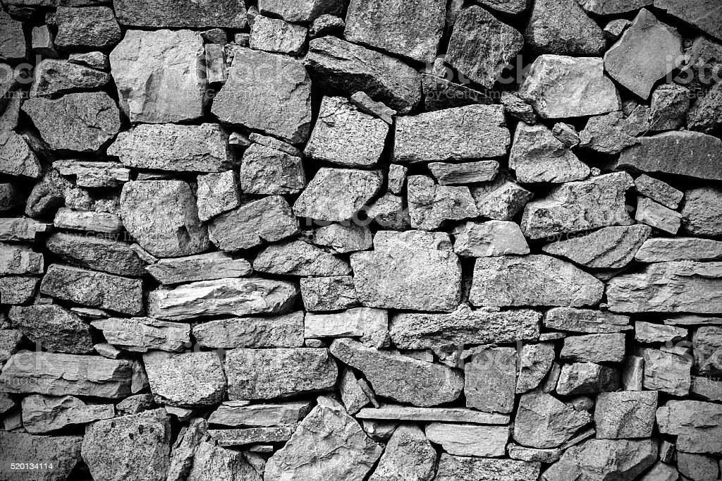 Rustic Wall background stock photo
