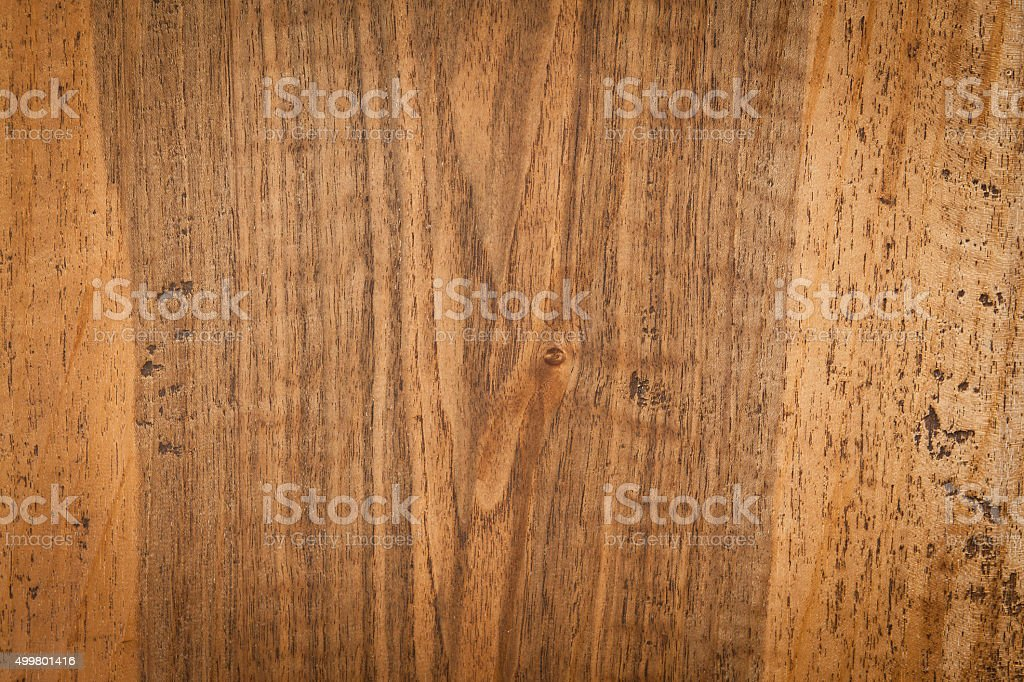 Rustic walnut flooring stock photo