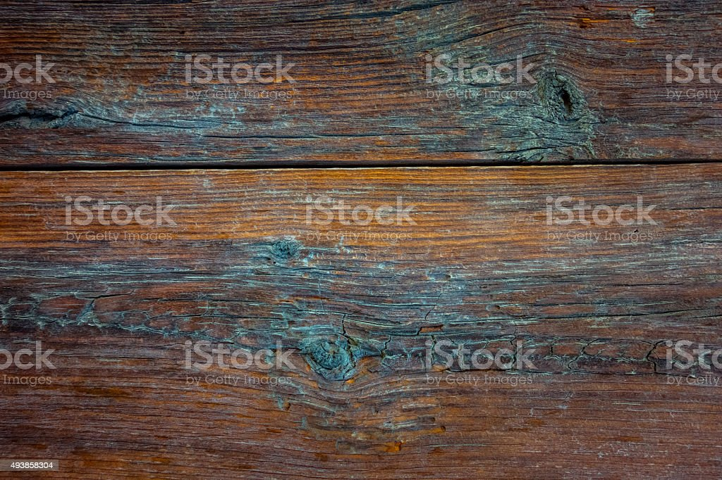 Rustic weathered wood planking abstract stock photo