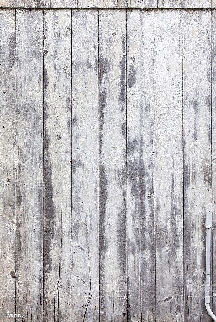 Rustic Whitewashed Barn Siding royalty-free stock photo