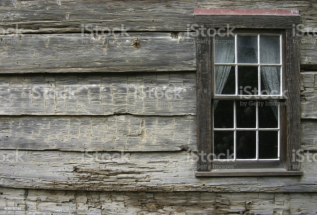 Rustic Window 2 royalty-free stock photo