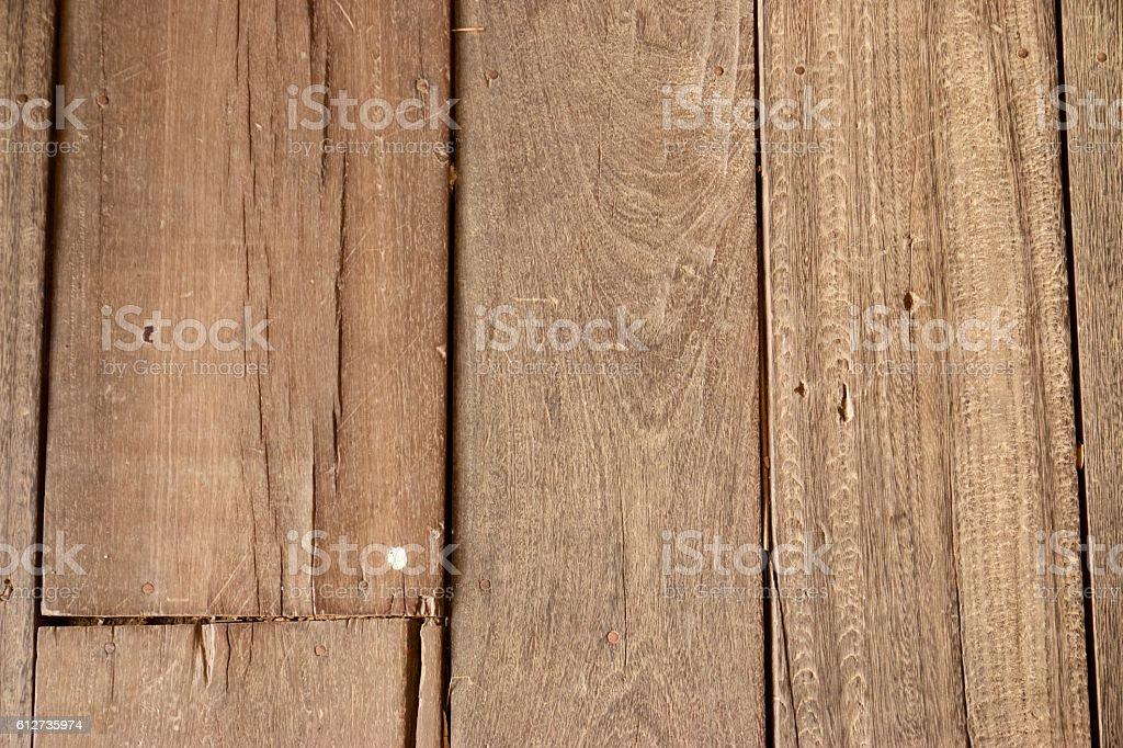 Rustic Wood flooring Close-up stock photo