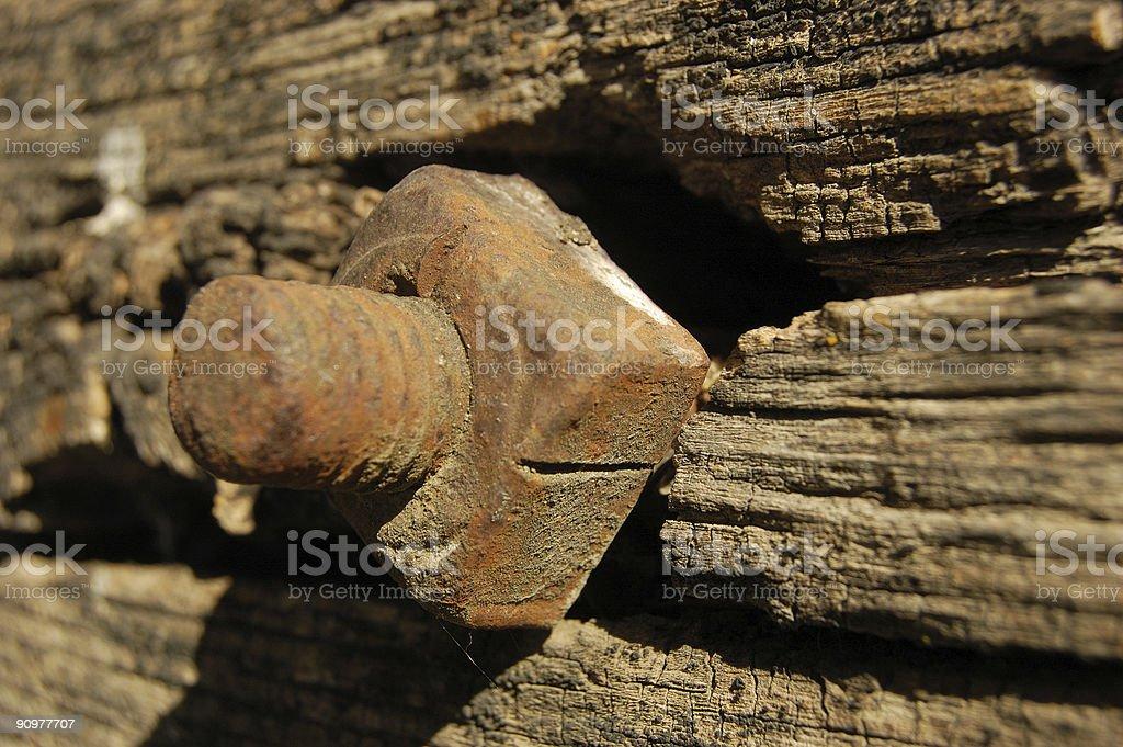 Rustic Wood stock photo