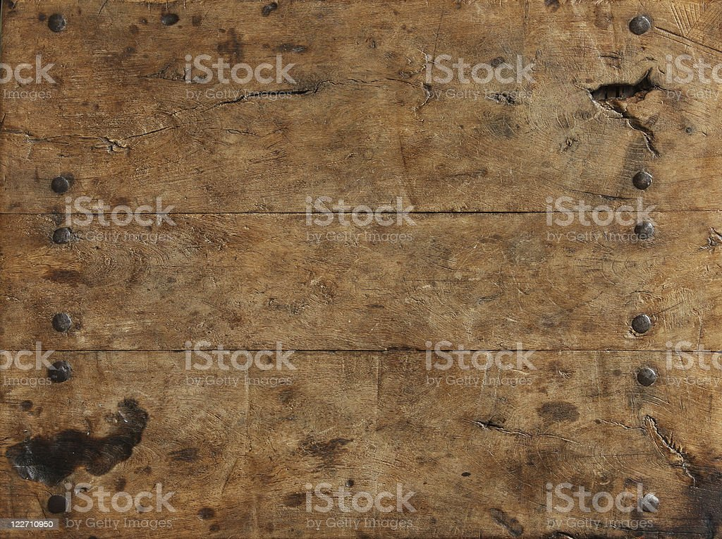 Rustic wood surface stock photo