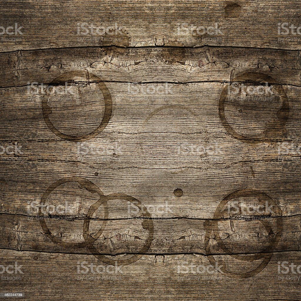 rustic wooden background with stains stock photo