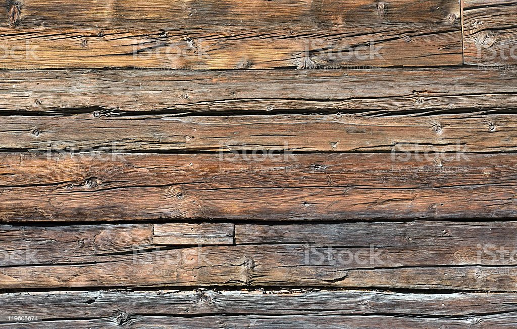 Rustic wooden board stock photo