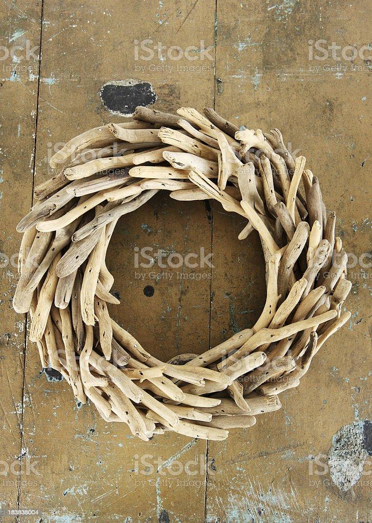 Rustic Wreath stock photo