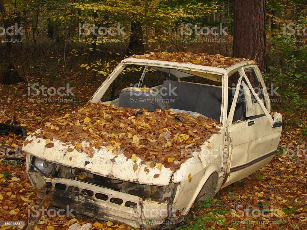 Rusting away royalty-free stock photo