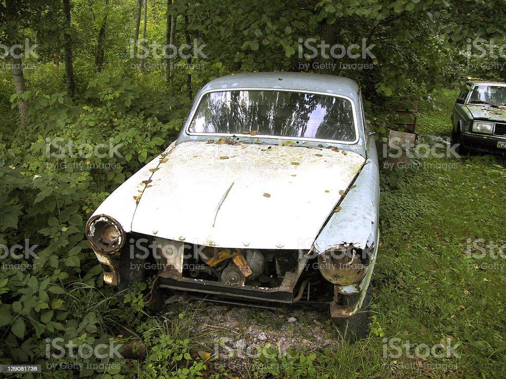 Rusting Car royalty-free stock photo