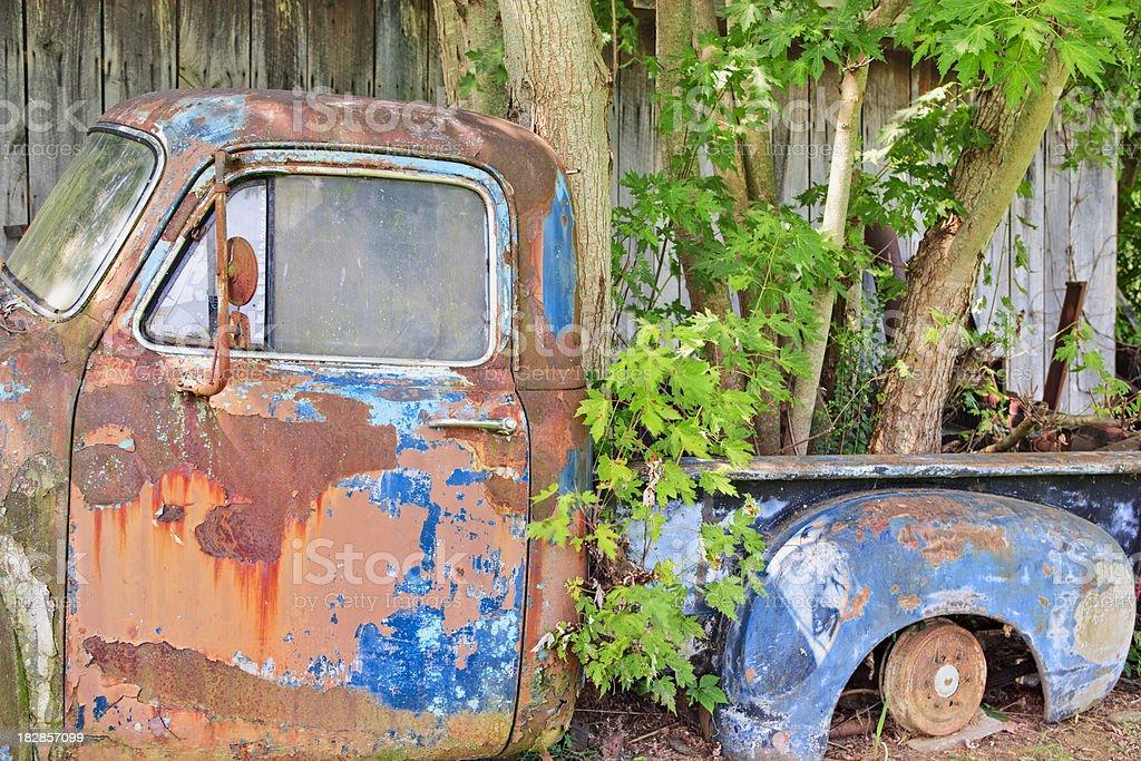 Rusting Pickup Truck royalty-free stock photo