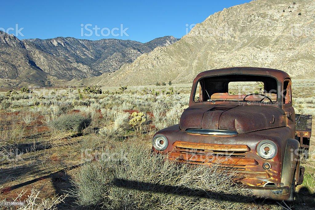 Rusting Truck stock photo