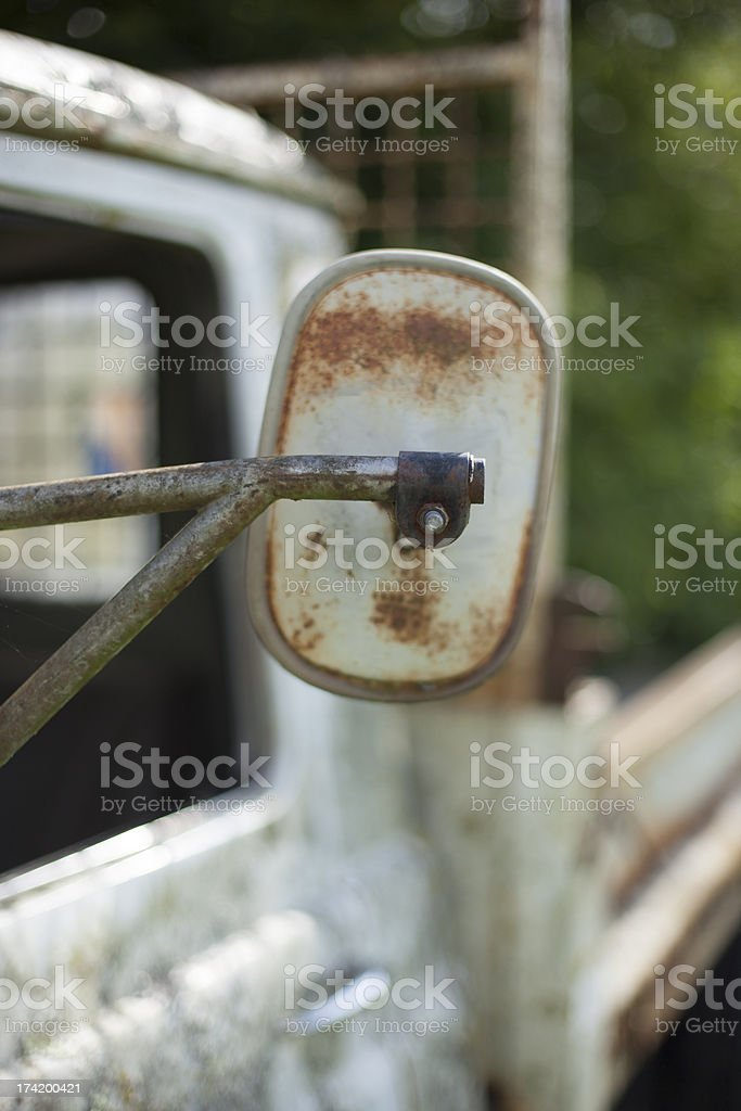 Rusting Vehicle royalty-free stock photo