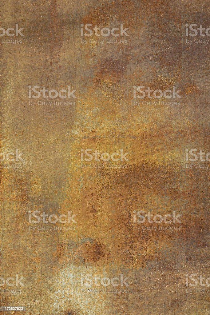 Rusting Wall royalty-free stock photo