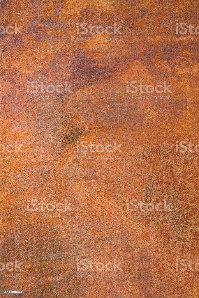 Rusting Wall royalty-free stock photo