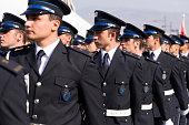 Rustu unsal police academy students.