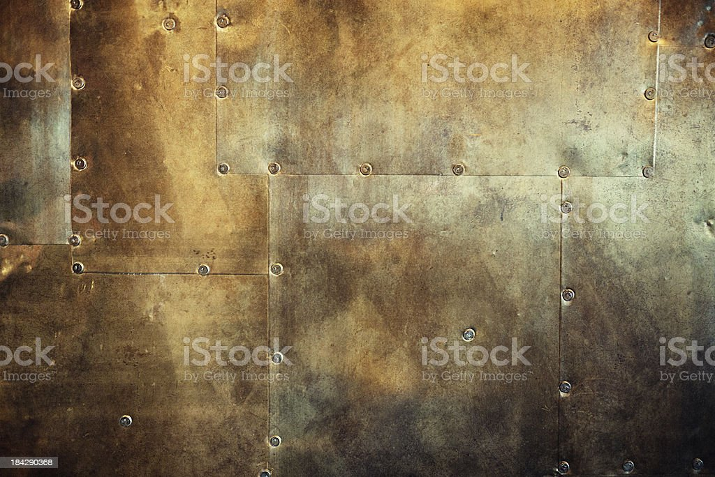 rusty and damaged metal background royalty-free stock photo