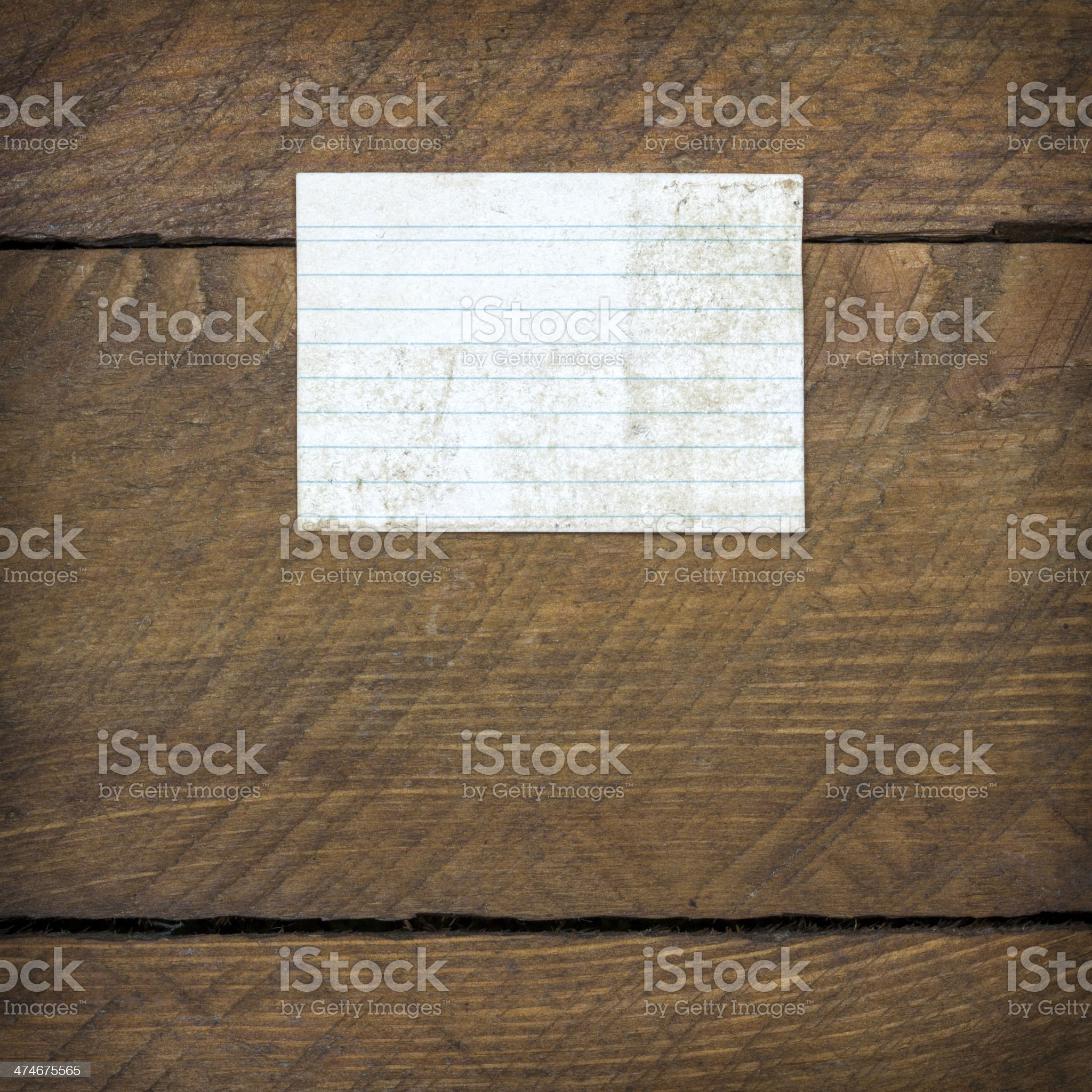 Rusty and Old Objects on Wooden Background. Paper royalty-free stock photo