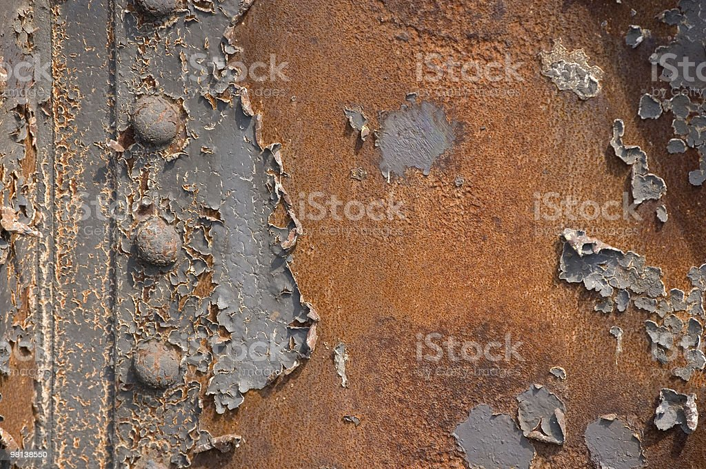 Rusty backgound royalty-free stock photo