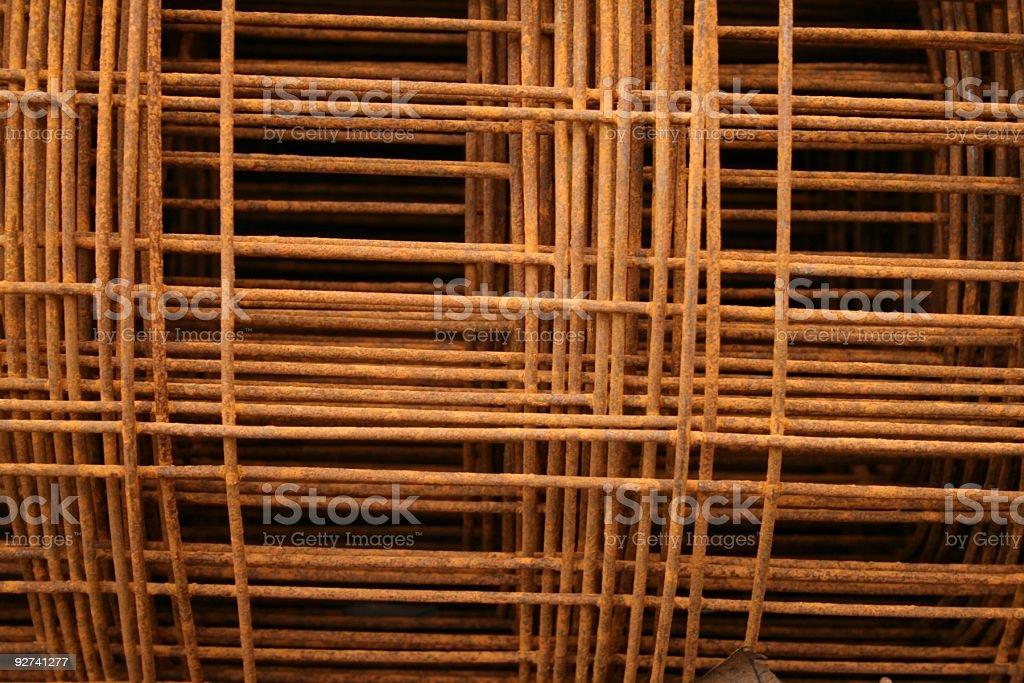 Rusty Background Metal stock photo
