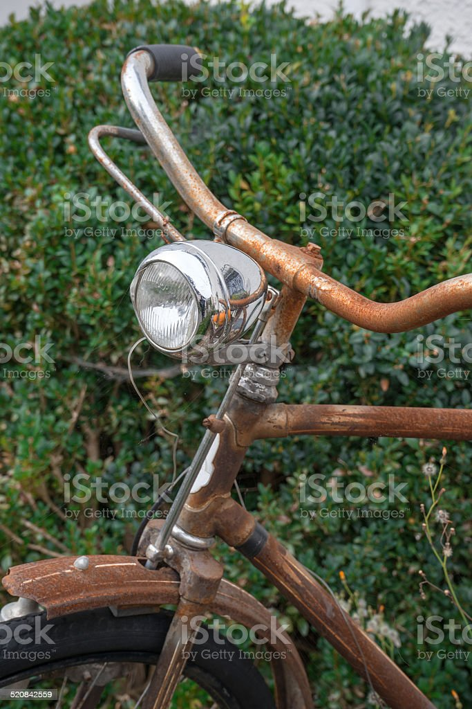Rusty bicycle royalty-free stock photo