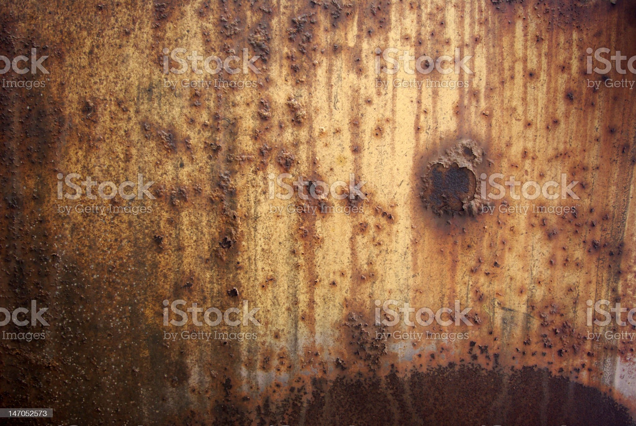 Rusty Blistering Metal royalty-free stock photo