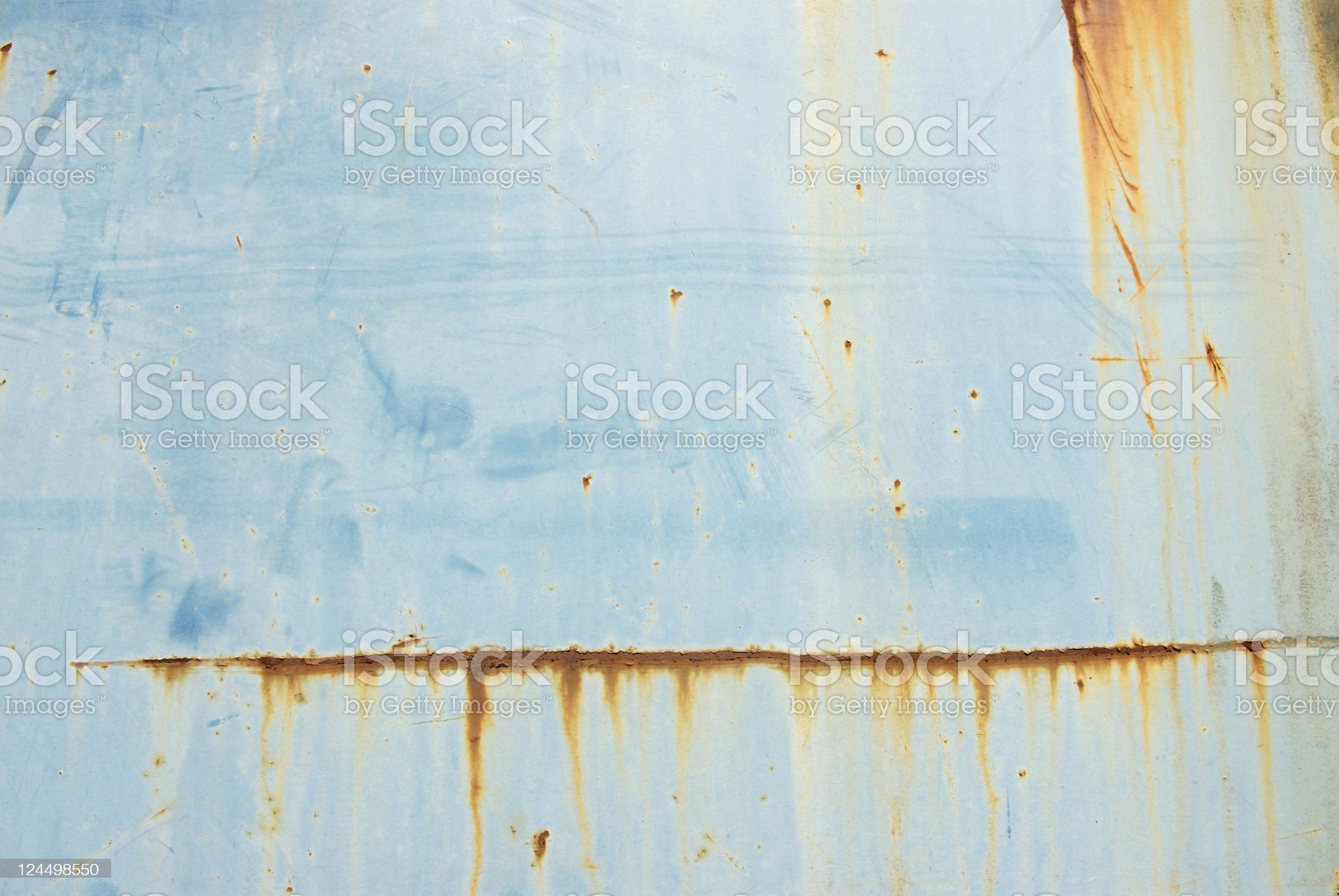 Rusty Blue Background royalty-free stock photo