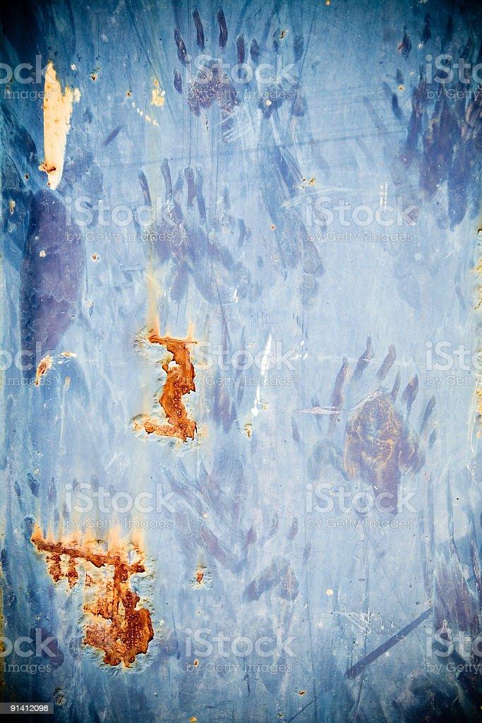 rusty blue texture royalty-free stock photo