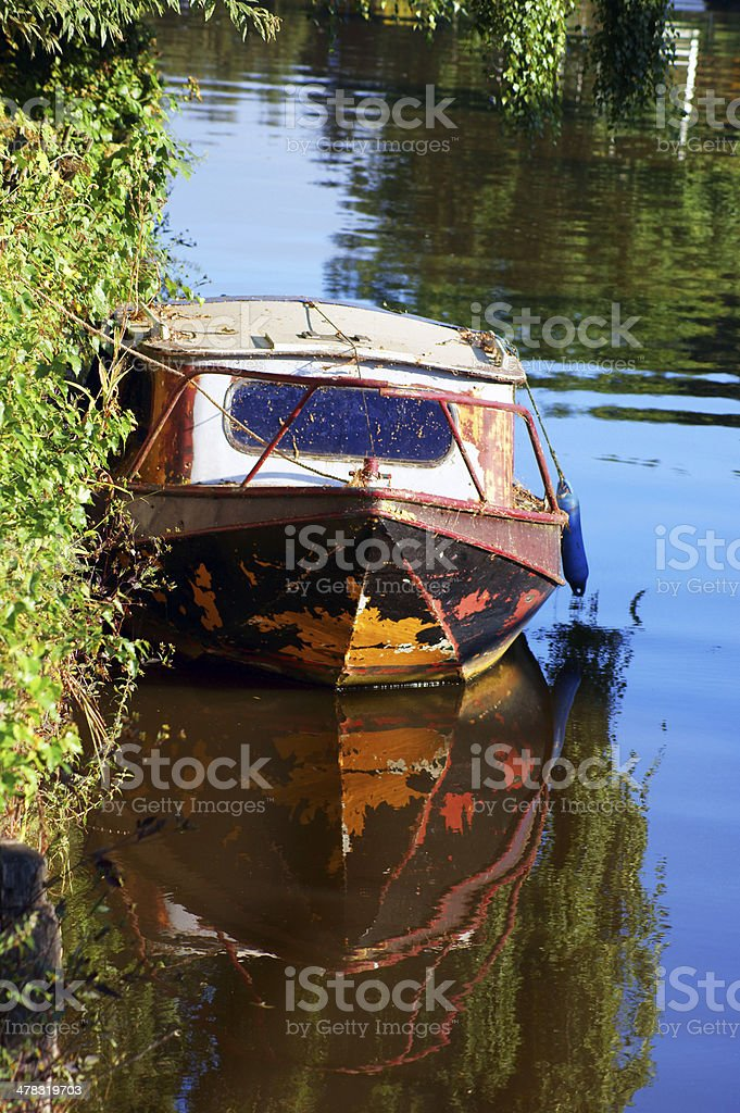 Rusty boot royalty-free stock photo