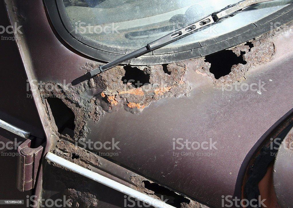Rusty car royalty-free stock photo