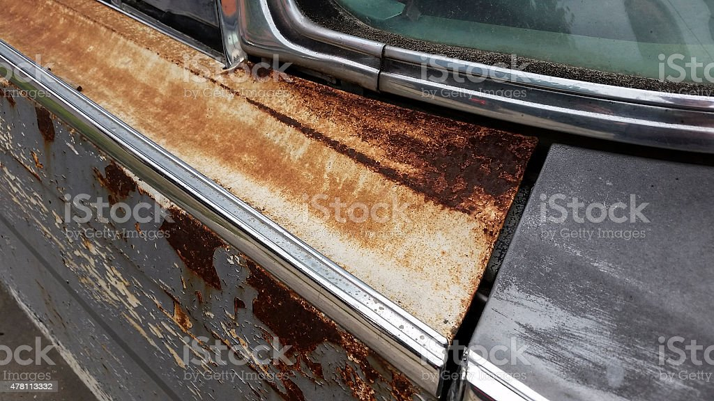 Rusty Car stock photo