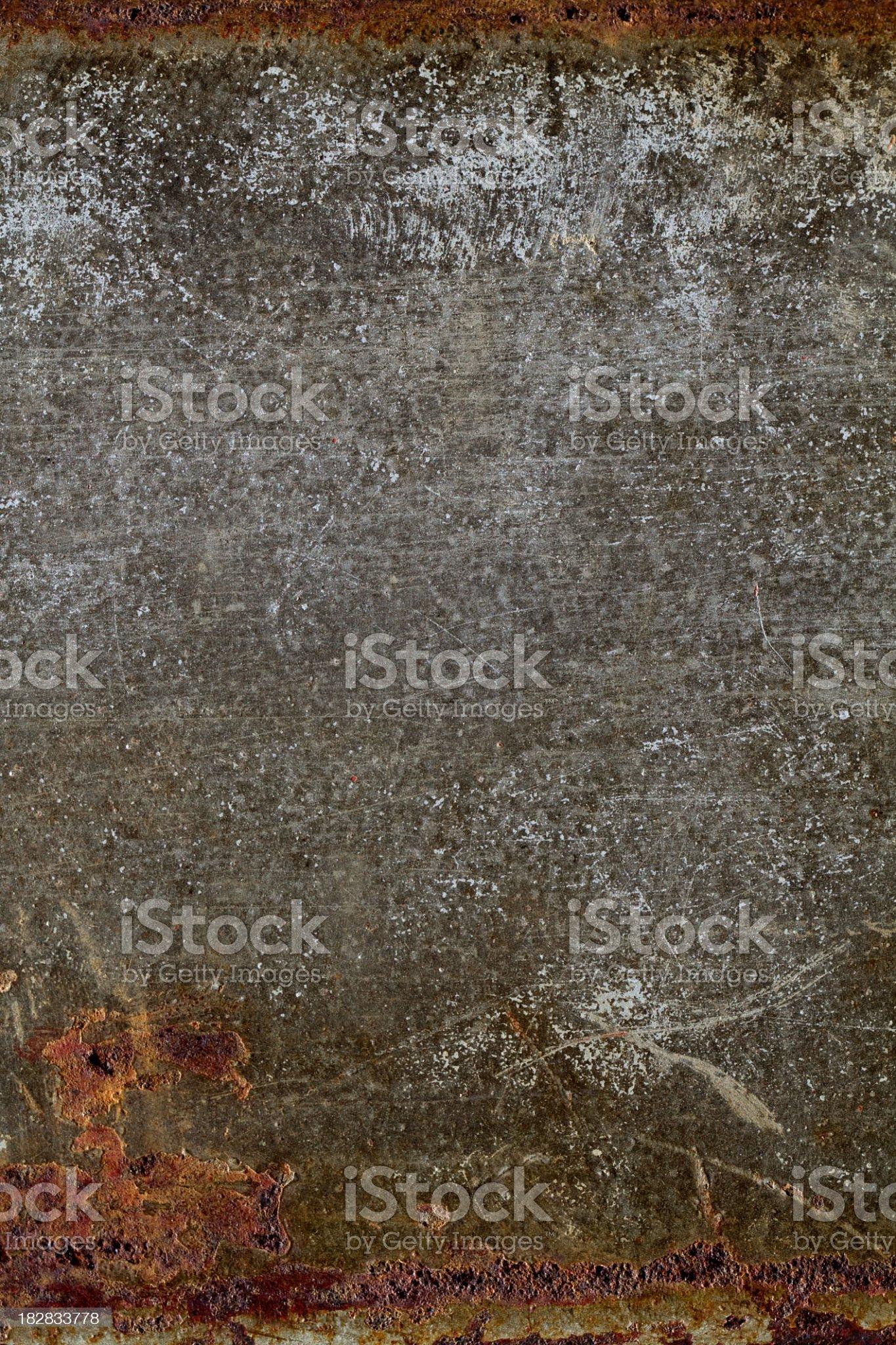 Rusty concrete grunge background royalty-free stock photo