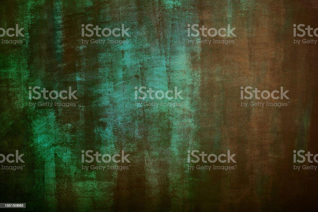 Rusty copper background stock photo