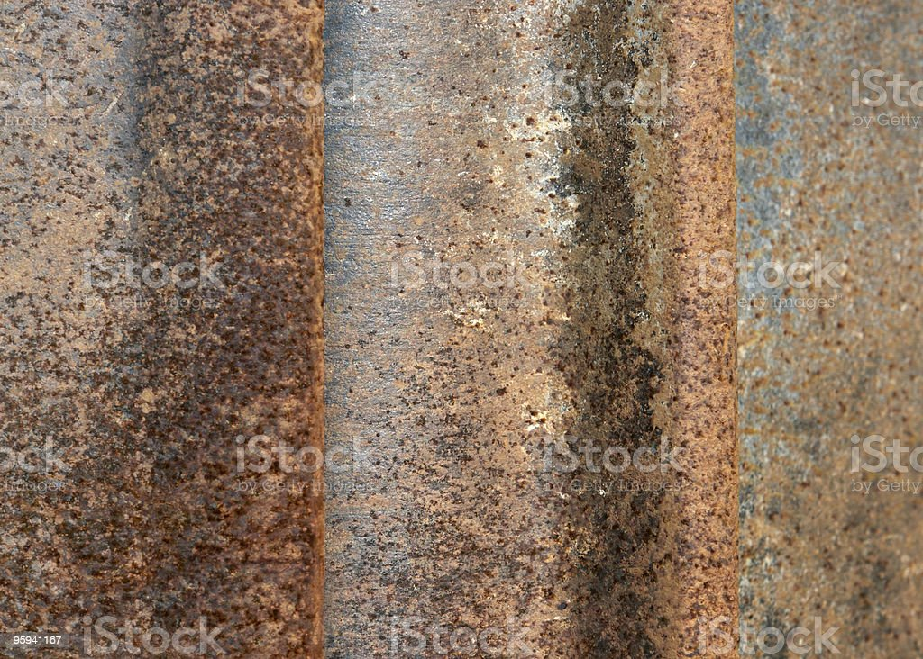 rusty corrosion detail royalty-free stock photo