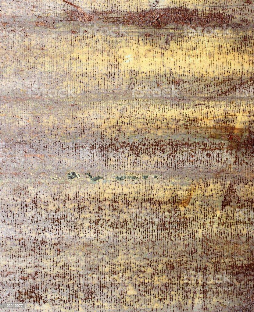 Rusty corrugated iron metal texture royalty-free stock photo