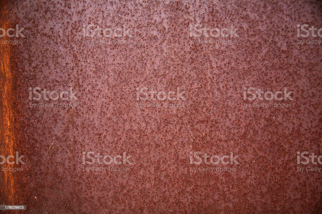Rusty Corrugated Iron royalty-free stock photo