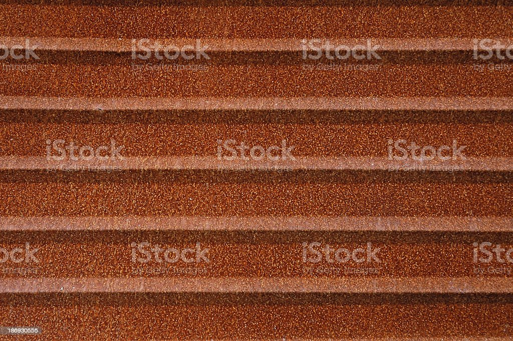 Rusty corrugated metal royalty-free stock photo
