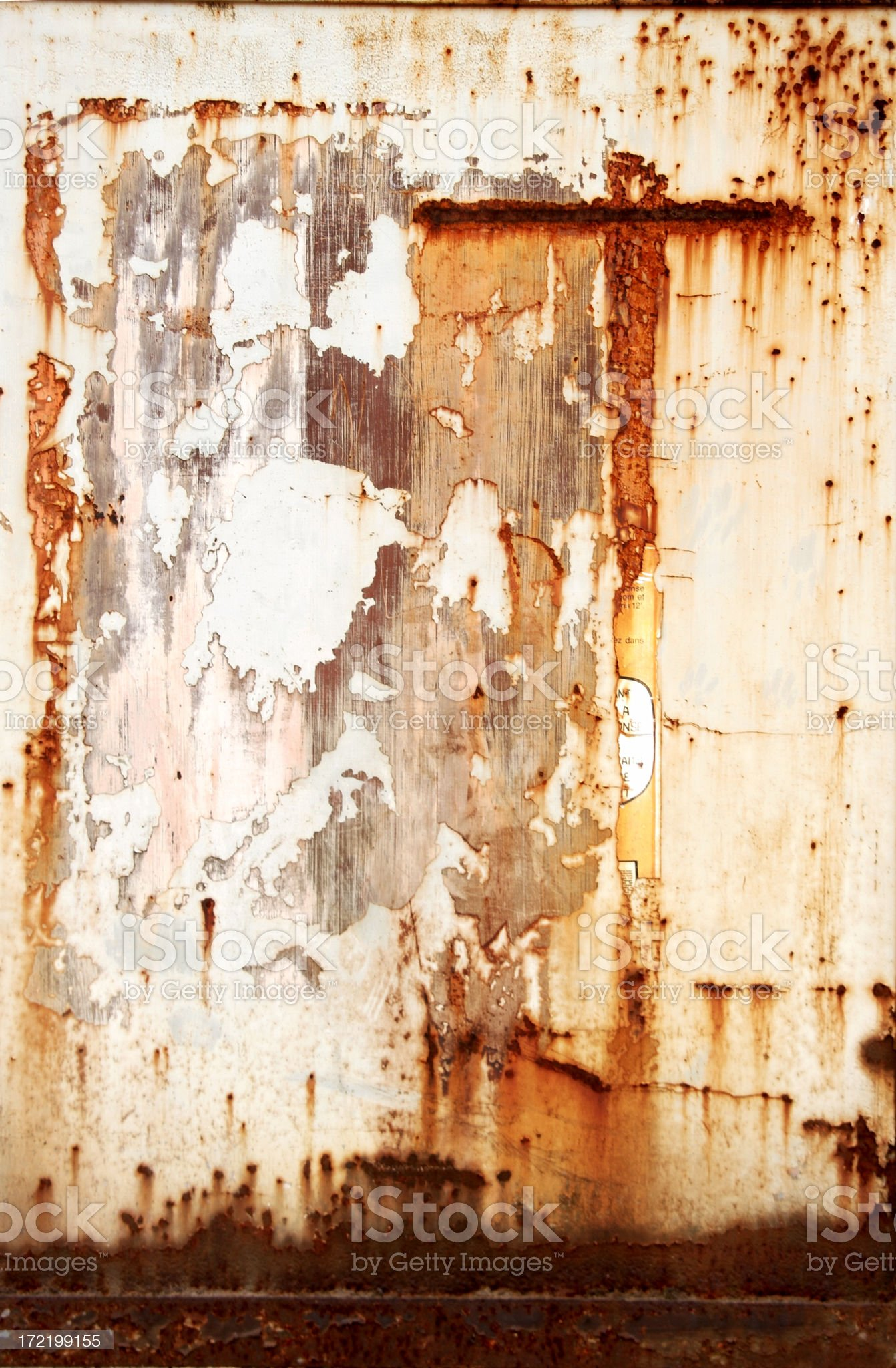 Rusty Cross royalty-free stock photo