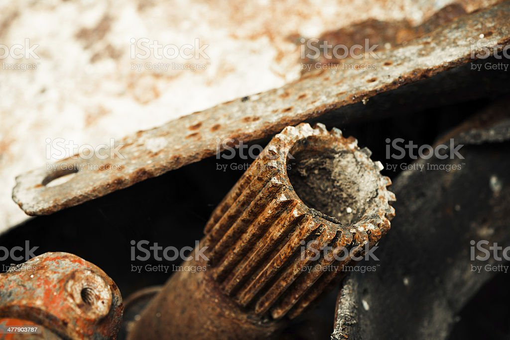 rusty details royalty-free stock photo