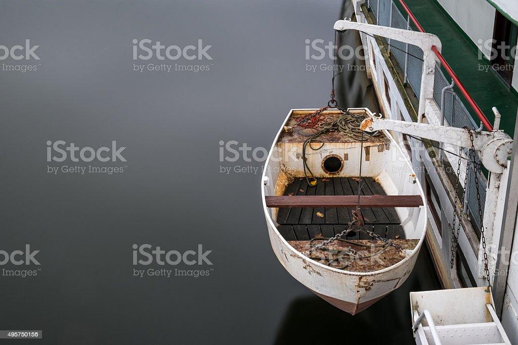 Rusty Dinghy stock photo