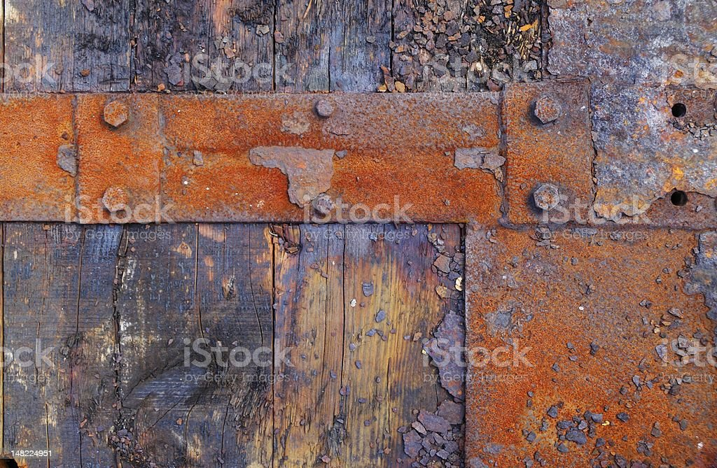 Rusty element royalty-free stock photo