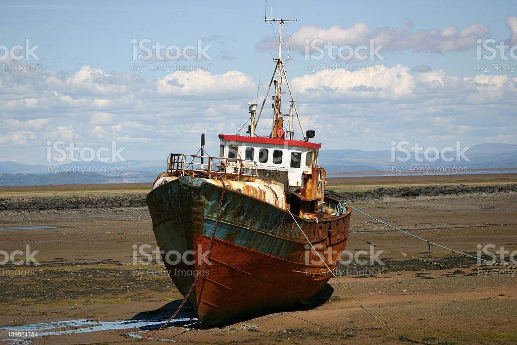 Rusty Fishing Boat royalty-free stock photo